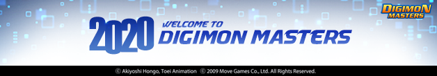 2020 Welcome to Digimon Masters!