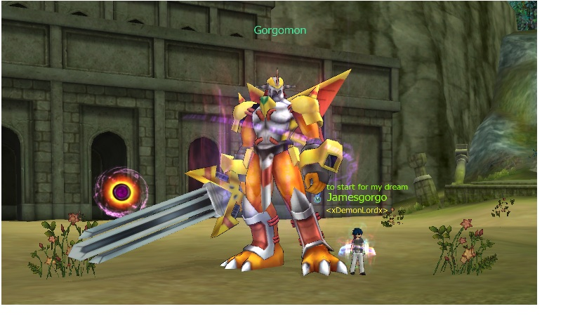 Gorgomon Digimon Masters